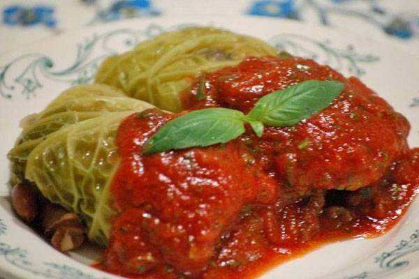 Ленивые голубцы в томатно-сметанном соусе в духовке - 5 рецептов с фото пошагово