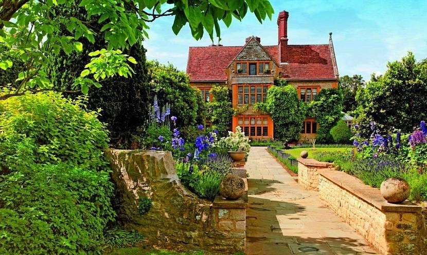 Английский стиль в ландшафтном дизайне