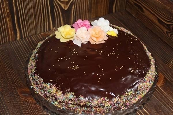 Как приготовить торт «трухлявый пень» с вареньем – классический пошаговый рецепт с фото