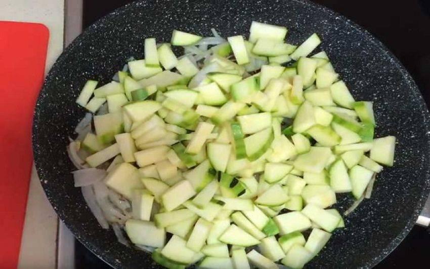 Сколько тушить цукини — готовим легкие овощные блюда