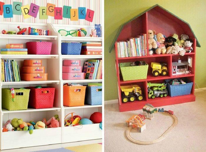 Оригинальное хранение игрушек: виды, идеи, практические советы