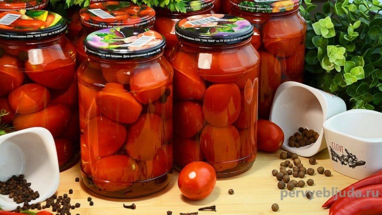 Зеленые помидоры на зиму в банке - 5 простых и вкусных рецептов с фото пошагово