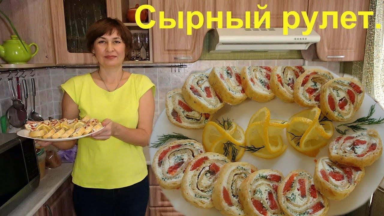 Рулет из лаваша с разными начинками — рецепты с фото пошагово