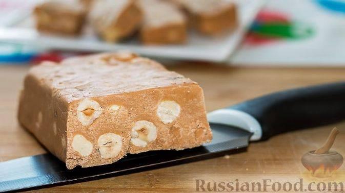 Щербет с арахисом рецепт