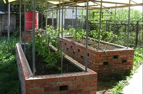 Умный огород или грядки для ленивых дачников: самодельные, видео