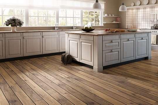 Полы на кухне: что выбрать?