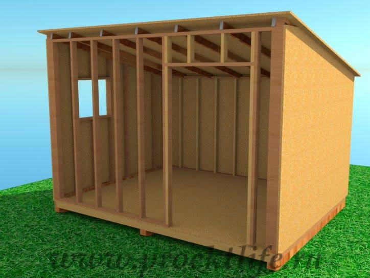Как построить бытовку – пошаговая инструкция