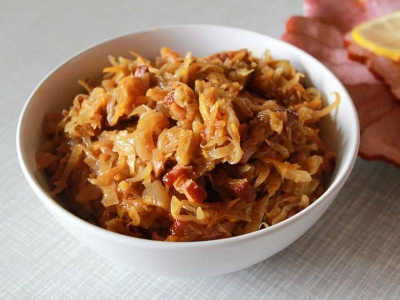 Как потушить капусту с фаршем в кастрюле пошаговый рецепт