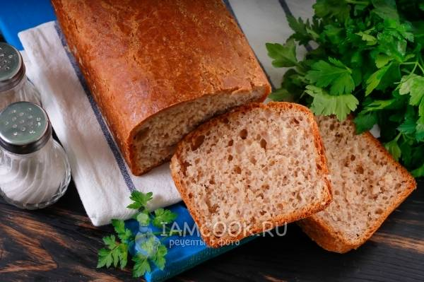 Пшеничный хлеб в хлебопечке