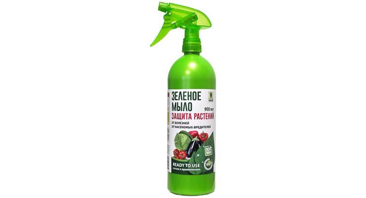 Как использовать зеленое мыло для борьбы с вредителями