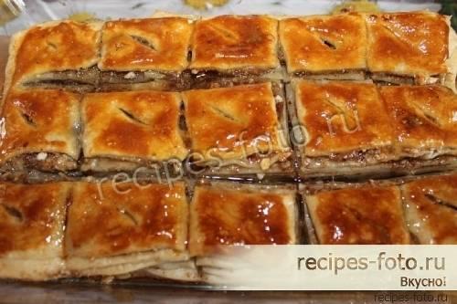 Сласти с востока: рецепт пахлавы с грецкими орехами