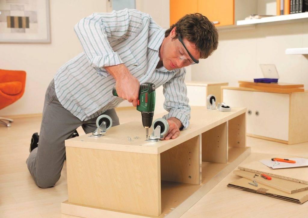 Сборка кухонного гарнитура — инструкция, как соединить, видео