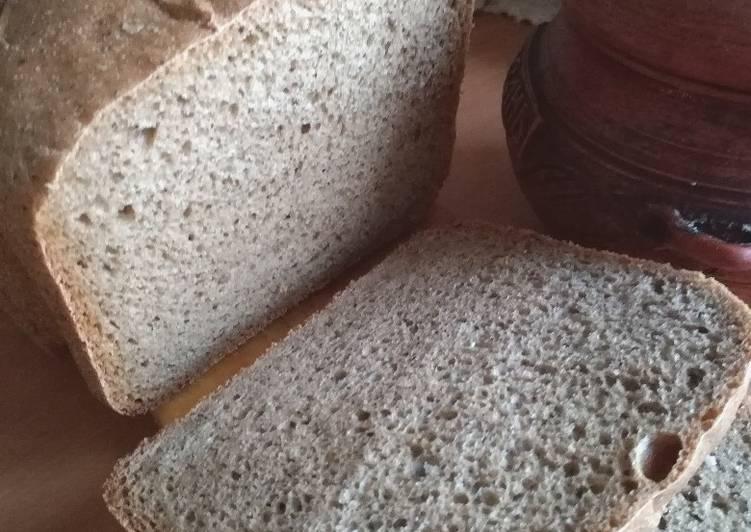 Проверенный временем рецепт вкусного пшенично-ржаного хлеба на дрожжах