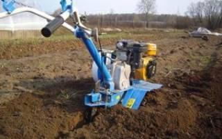 Способы вспашки земли с помощью мотоблока