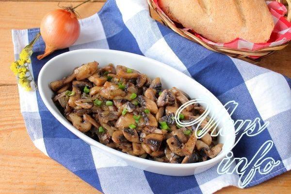 Как приготовить грибы шампиньоны (12 рецептов)