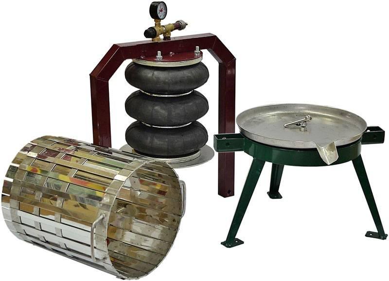 Виды прессов для винограда, инструкция по изготовлению своими руками