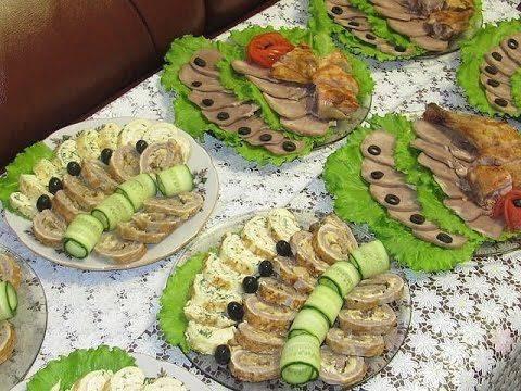 Вкусные закуски на праздничный стол — 12 простых рецептов