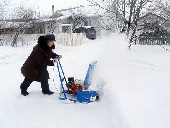 Снегоуборщик своими руками: варианты изготовления