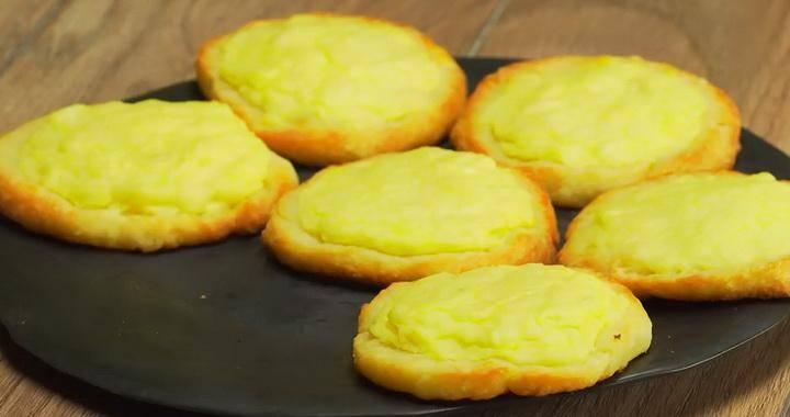 Тесто для шанег с картошкой