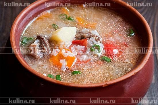 Мастава по-узбекски — пошаговый рецепт узбекского супа
