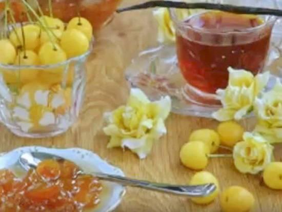 Густое варенье из черешни без косточек на зиму 5 вкусных рецептов