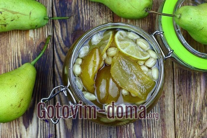 Варенье из груш на зиму простой рецепт