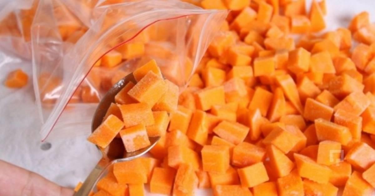 Сок из тыквы с апельсином для солнечного настроения на зиму