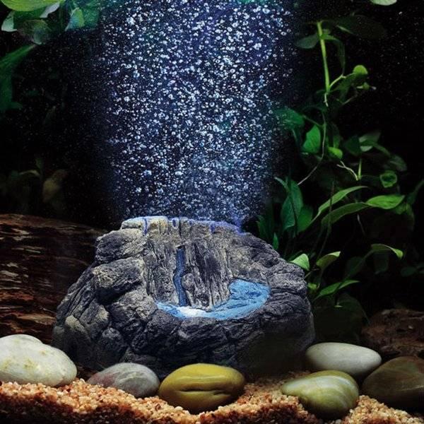 Аэратор для аквариума: что это такое и его виды