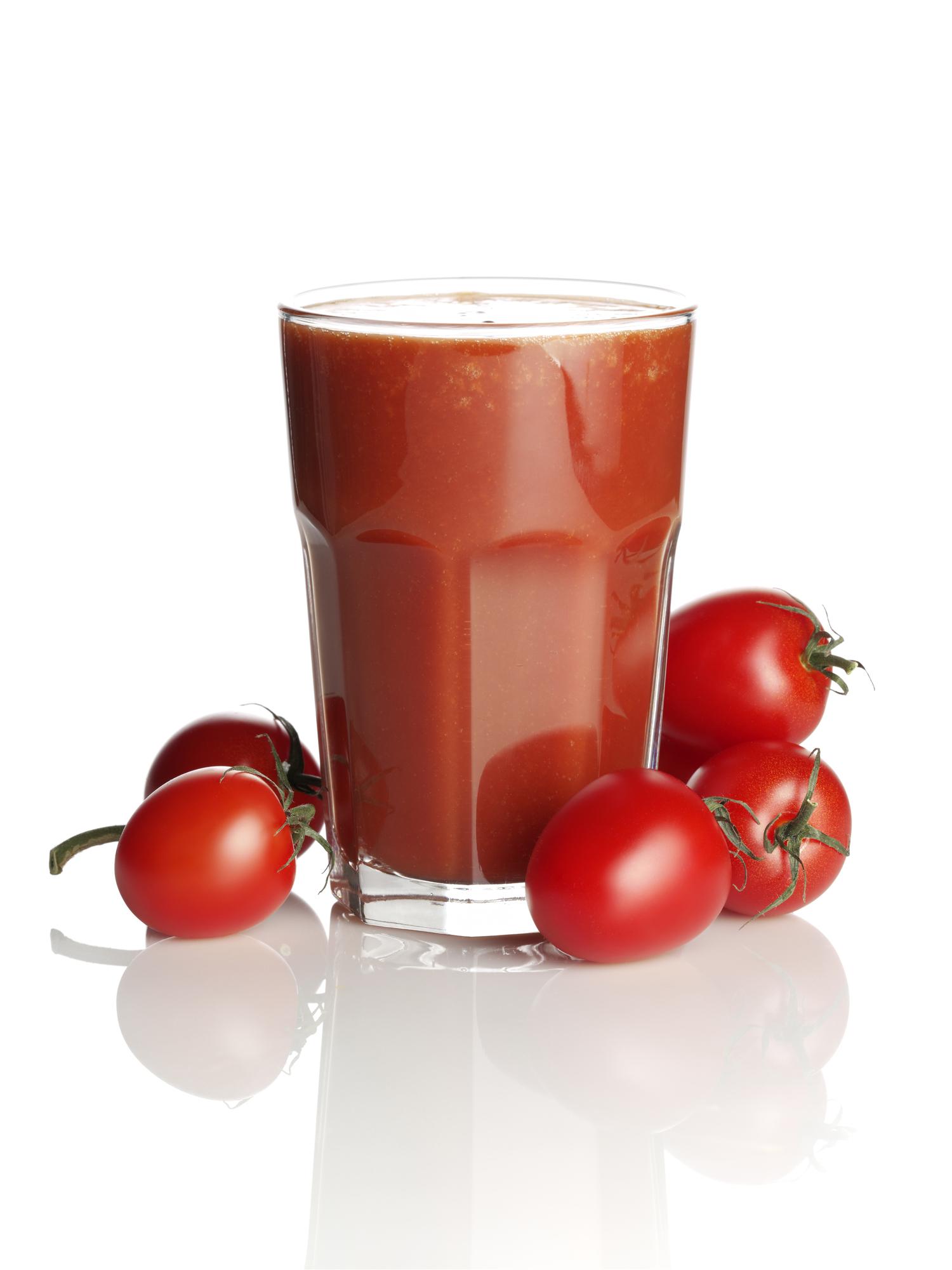 Томатный сок для похудения: польза и вред