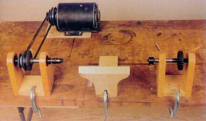 Технология изготовления токарного станка из дрели