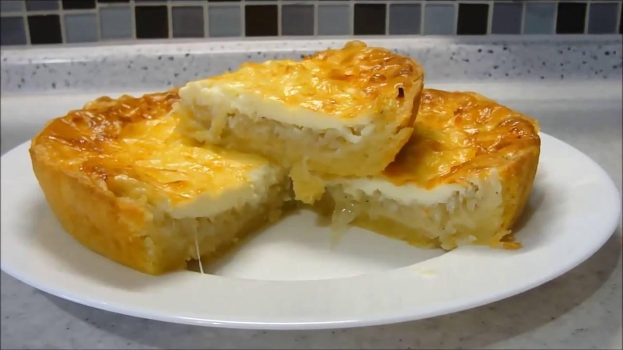 Классический пошаговый рецепт французского лукового пирога