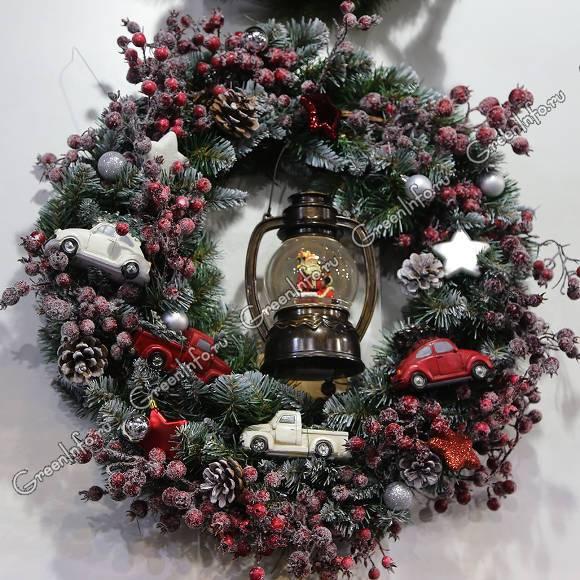 Новогодние и рождественские растения для декора и для подарков