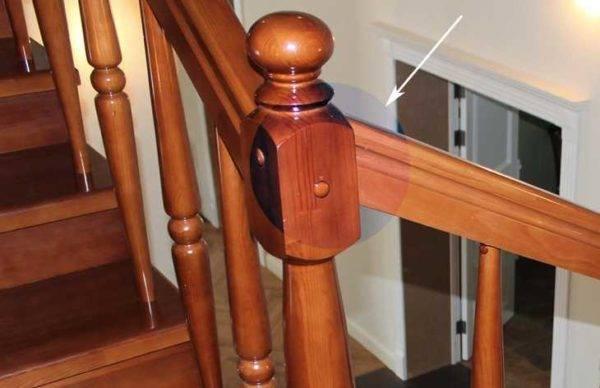 Установка перил на лестницу, крепление к стене, столбам, видео