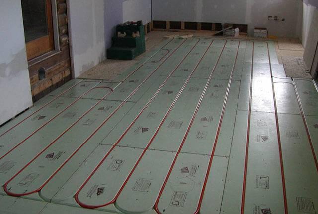 Теплый пол под ламинат на бетонный пол – схема комфорта для вашего дома