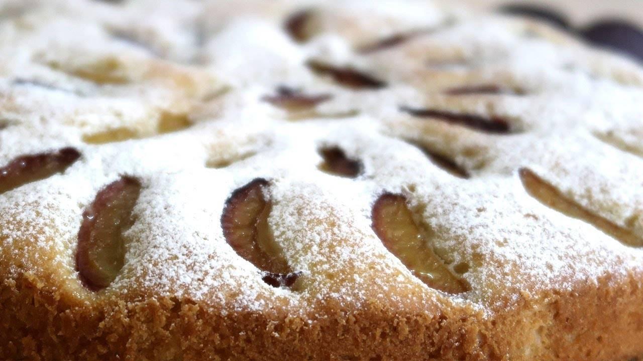 Cливовый пирог рецепт с фото