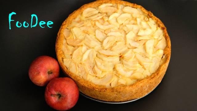 Цветаевский яблочный пирог — 5 пошаговых рецептов с фото