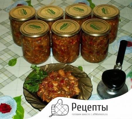 Самые вкусные салаты на зиму из баклажанов — 7 рецептов заготовок