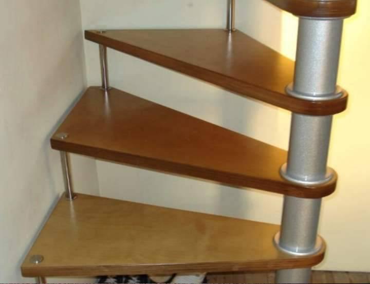 Расчет лестницы с поворотом на 90 градусов