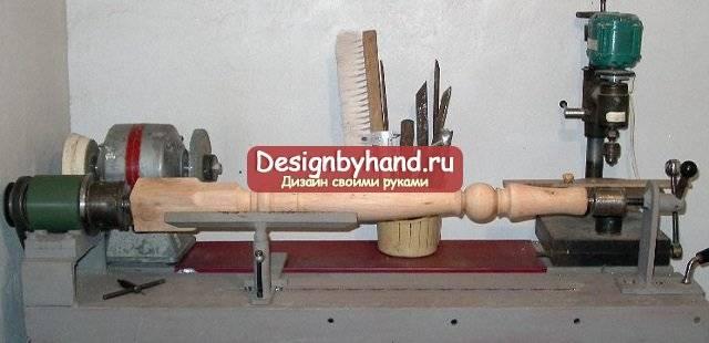 Самодельный токарный станок из обычной дрели