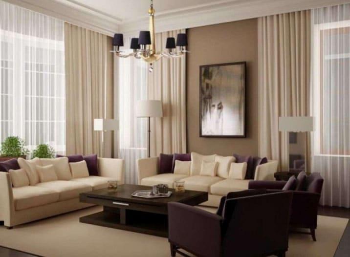 Новинки штор в гостиную – модные сочетания и лучший дизайн 2019 года (130 фото)