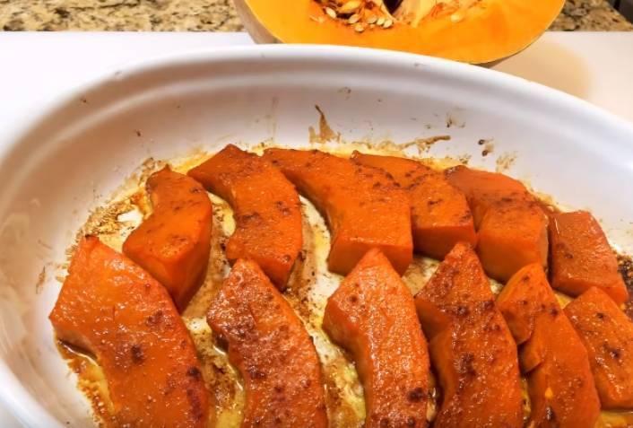 Как вкусно запечь тыкву в духовке кусочками