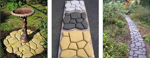 Форма для тротуара из Китая