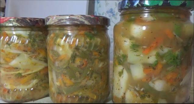 Салат по корейски на зиму