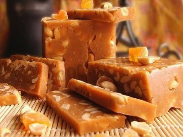 Рецепт щербета с арахисом в домашних условиях