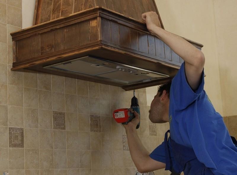 Как функционирует кухонная вытяжка