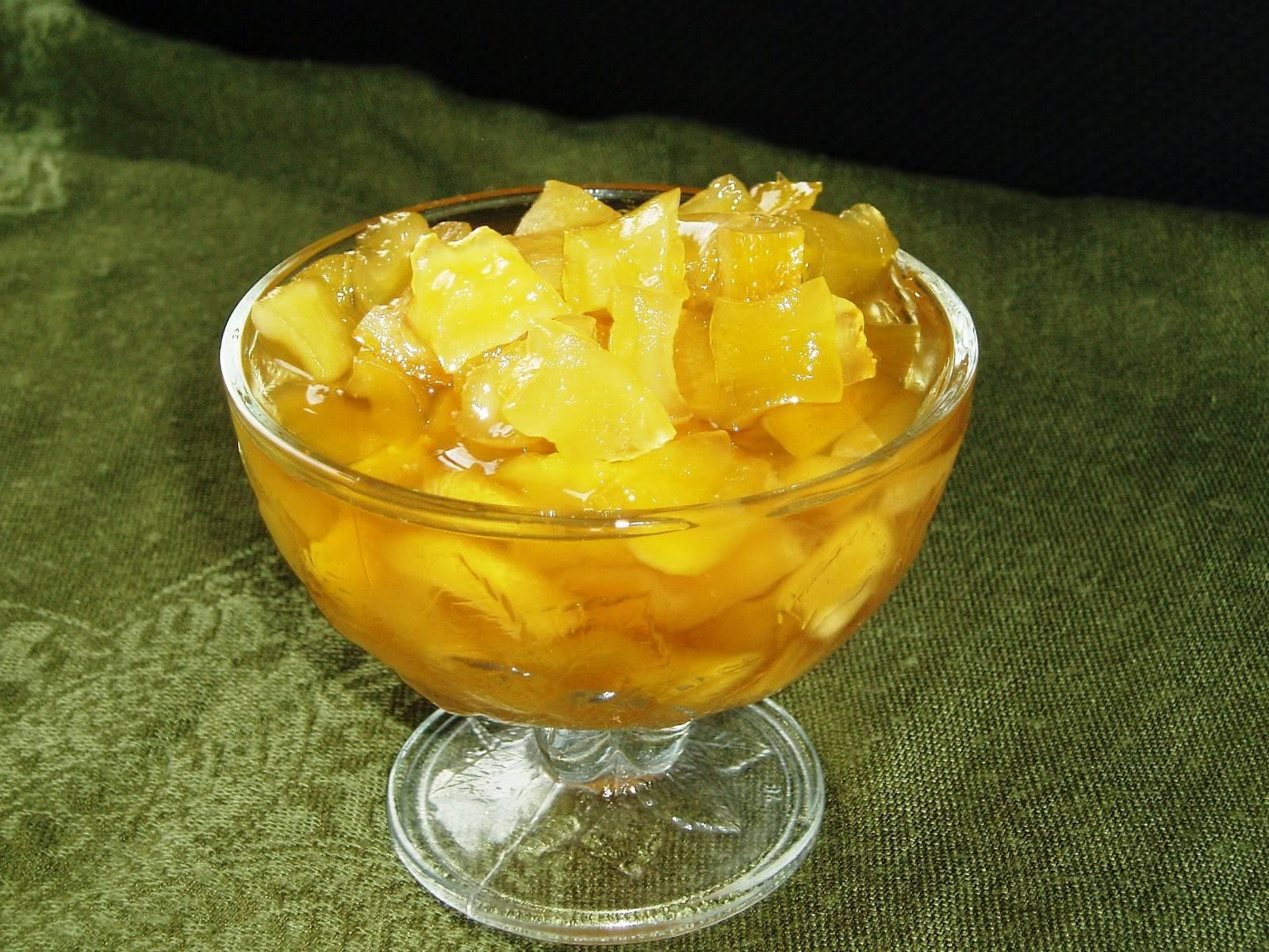 Варенье из кабачков с лимоном и апельсином — рецепты приготовления в мультиварке и обычным способом, видео
