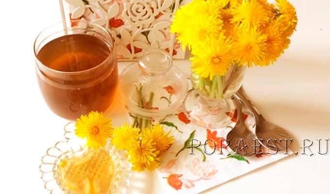 Одуванчиковый мед лечебные свойства