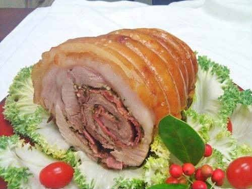 Лучшие рецепты приготовления рулета из свиной рульки