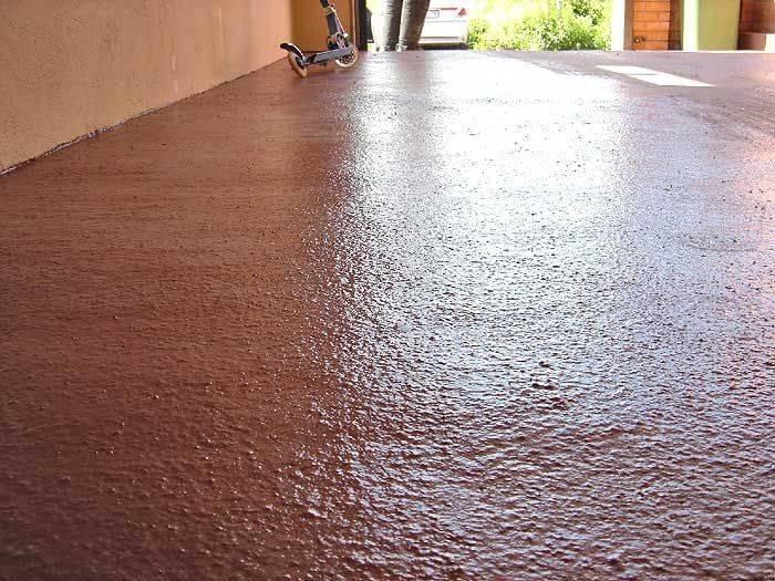 Чем покрыть пол в гараже — материалы и способы укладки