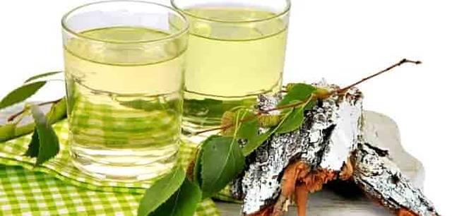 Березовый сок — целебный природный напиток